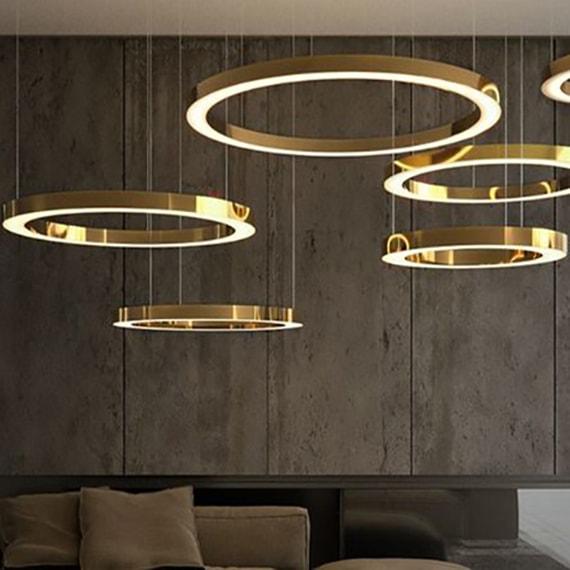 Латунные светильники на заказ