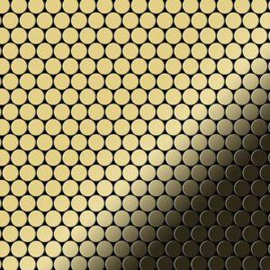 Мозаика из латуни